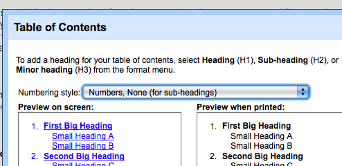 Get a Table of Contents, Dictionary, and Thesaurus in Your Google Docs