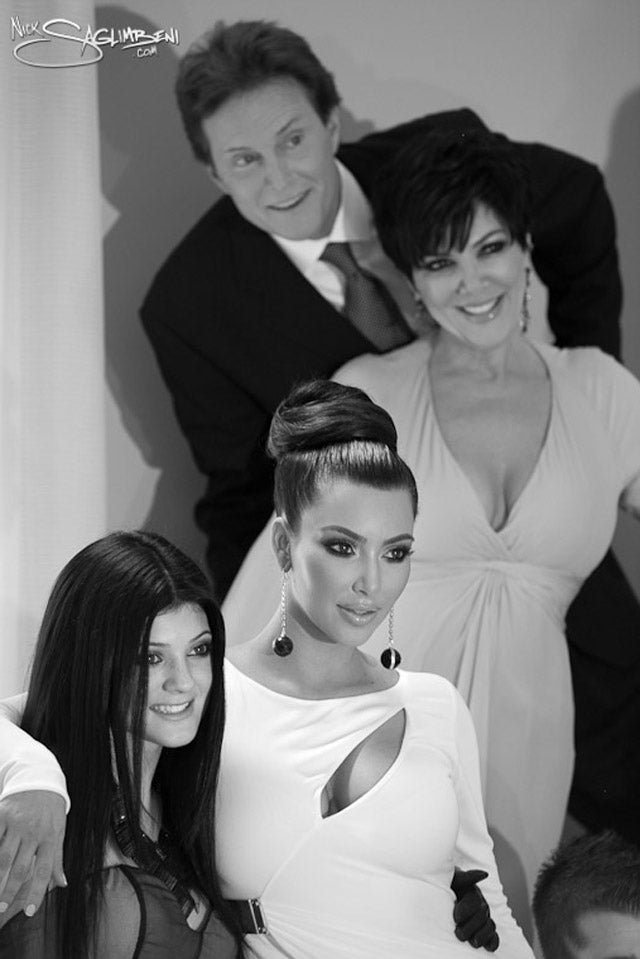 Kardashian Family Christmas Cards Will Put You in a Trance State