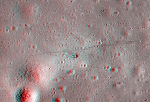 The Moon in 3D