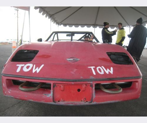 First-Ever 24 Hours Of LeMons Corvette Gets Zero BS Penalty Laps!
