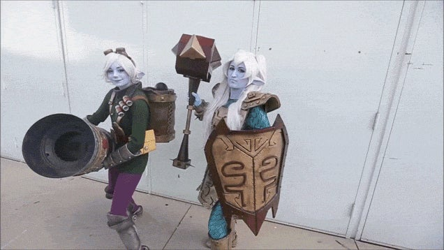League of Legends Cosplayers Swarm Anime Expo 2014