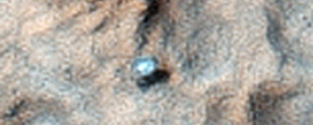 The Curiosity Rover Sure Looks Lonely When Seen From Space