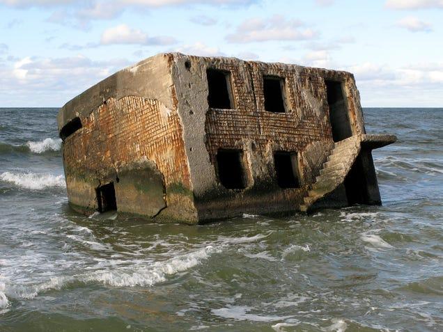 El distópico mundo de las bases de submarinos abandonadas 805315688209321389