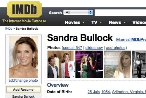 Celebrities Want IMDB To Stop Listing Their Ages