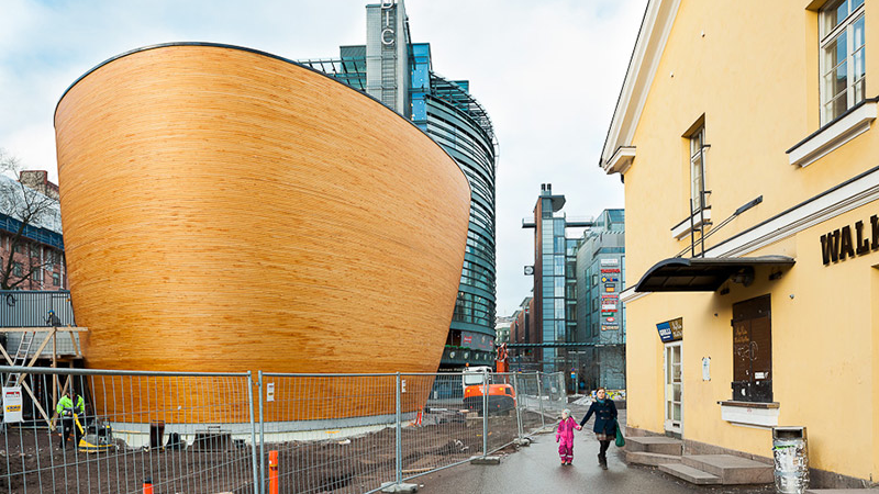 Go to Church in a Chapel That Looks Like Noah's Ark