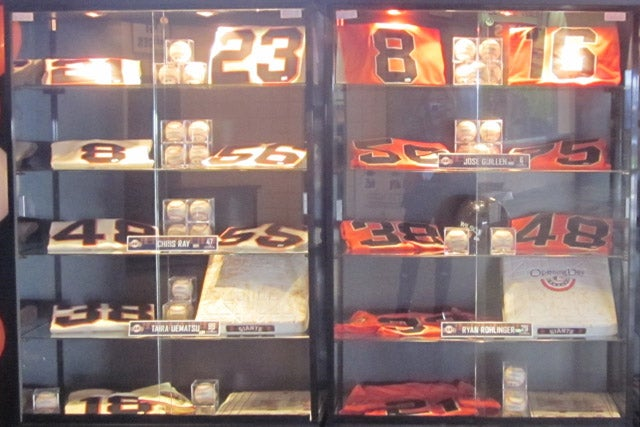 The San Francisco Giants Are Selling Their Old, Game-Used Stuff