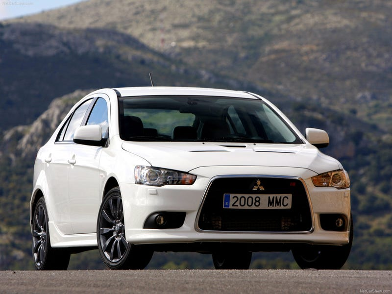 2010 Mitsubishi Lancer Sportback Coming To America, Five-Door Style