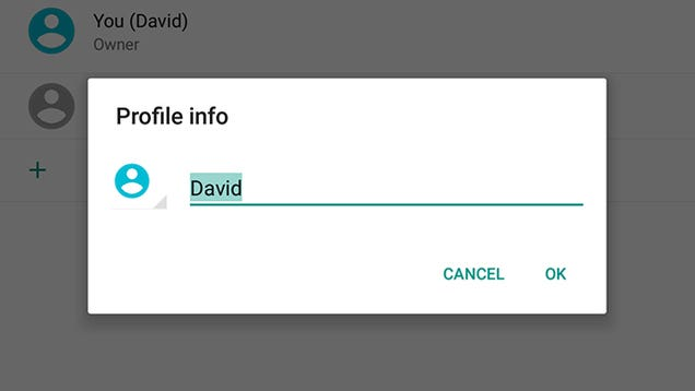 How to Change a Blank Account Picture in Android Lollipop