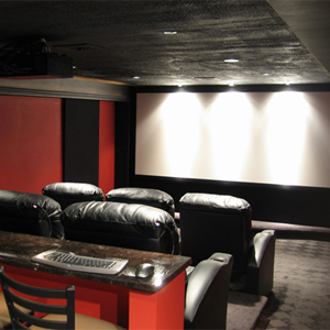 selianth our home theater was just written up in electronic house