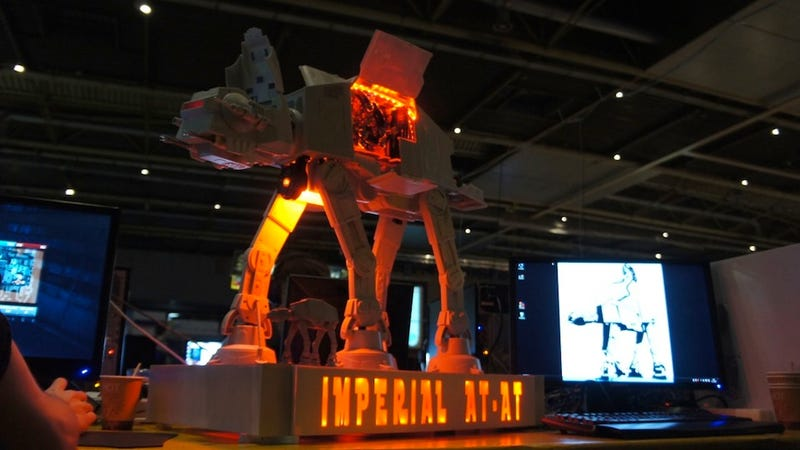 It Will Take More Than A Harpoon To Trip Up This Awesome AT-AT Case Mod