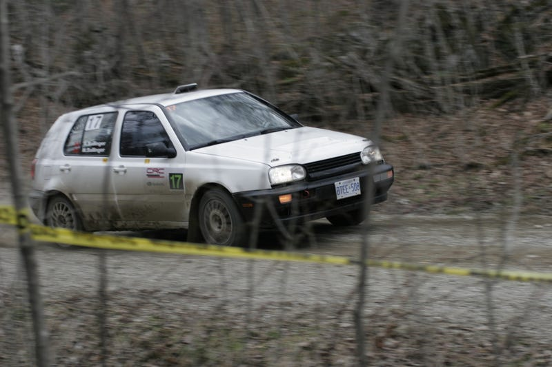 I watched my first rally yesterday - Lanark Highlands Rally