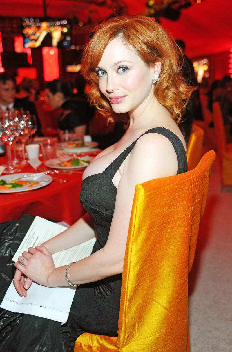 Christina Hendricks Wants a Banana in Her Stocking, and Other Yuletide Entendres
