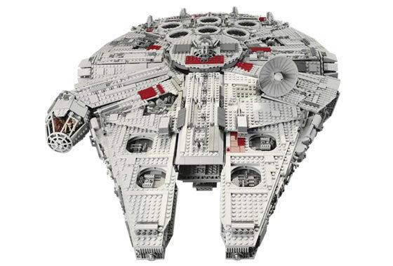 the biggest lego set ever made star wars millennium. Black Bedroom Furniture Sets. Home Design Ideas