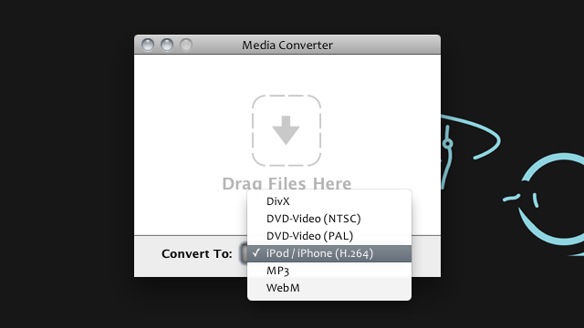 Media Converter for OS X is the Simplest Drag-And-Drop Video Converter Around