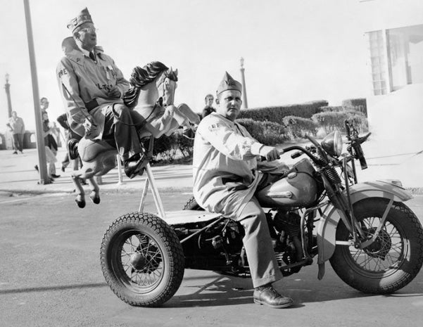 Harley-Davidson shows off its rocket engines, hobby horses