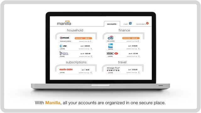 Take Away the Pain of Paying Bills Online with Manilla