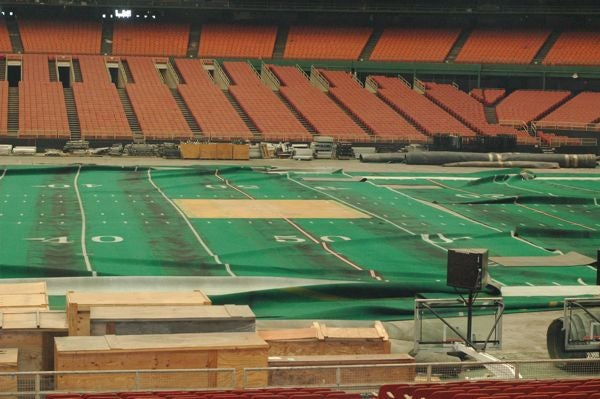 The abandoned Houston Astrodome will host the Super Bowl on Ragnarok