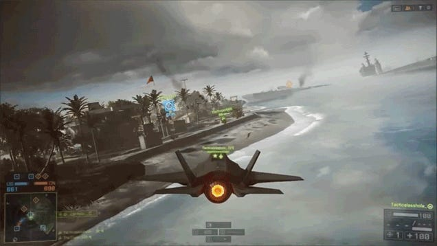 Battlefield 4 Jet Swap Shows Everyone How Teamwork is Done