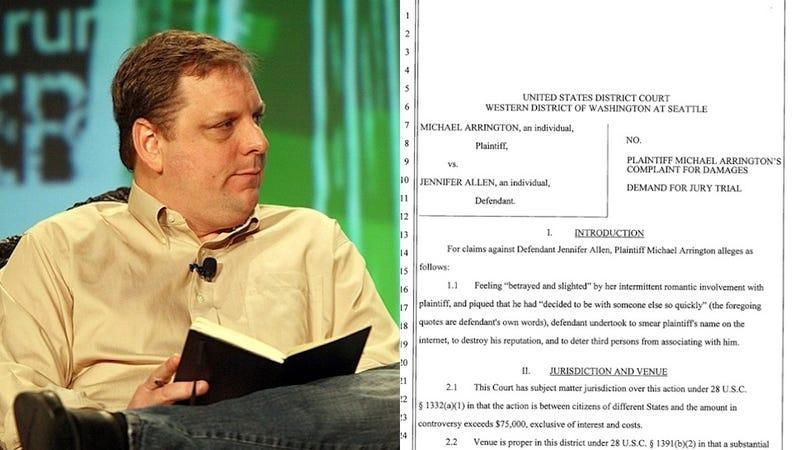 Michael Arrington Sues Jenn Allen Over Rape Claims