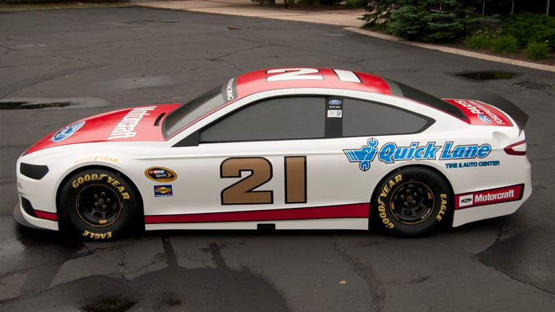The New Nascar Ford Fusion Is Hillbilly Hotness
