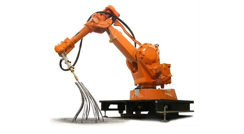 This Robot Arm Can 3D-Print Molten Metal in Midair