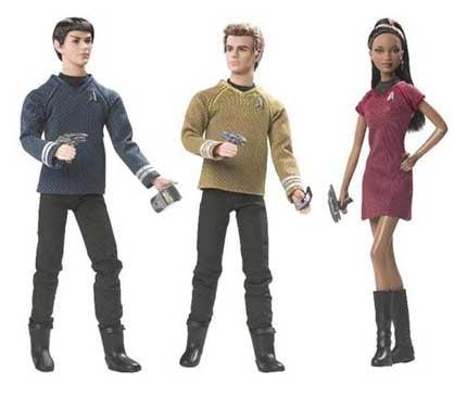Star Trek Barbie Dolls Still Have No Nipples