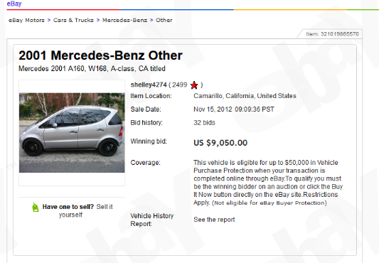 Here's How A Guy Legally Registered A Mercedes A-Class In The US