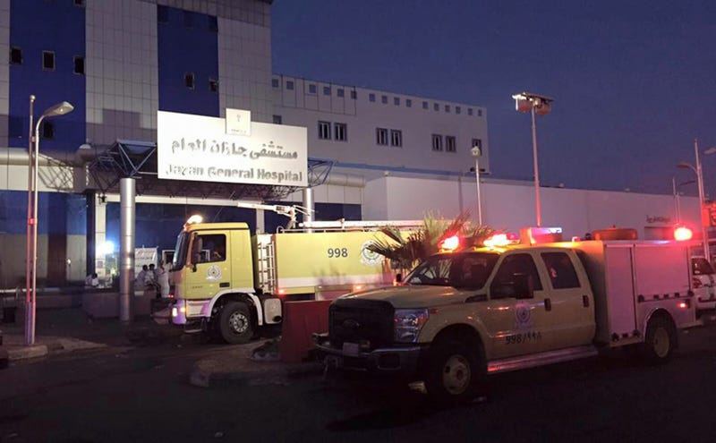 At Least 25 Killed in Fire at Saudi Hospital