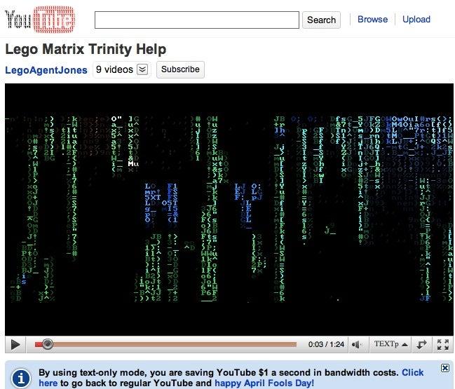 Trololo as ASCII Art Is a Thing of Perverse Beauty