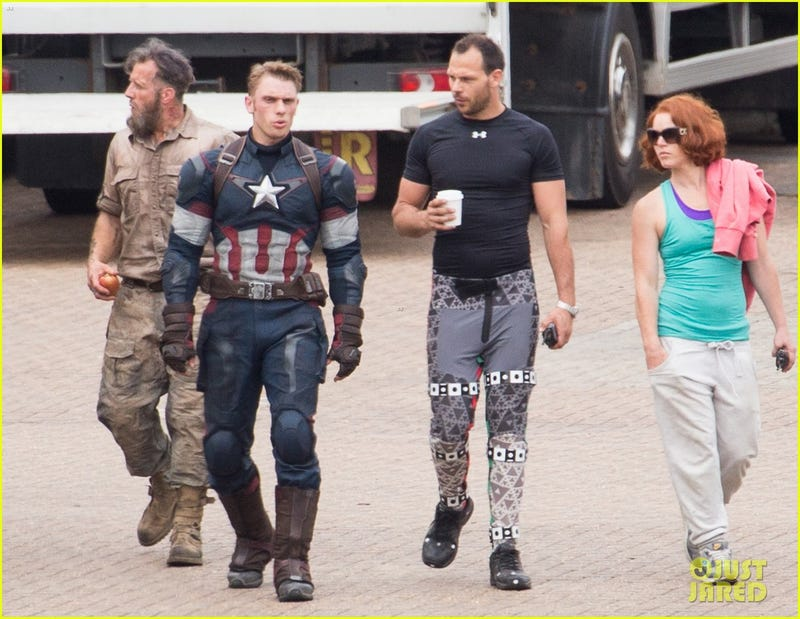 Avengers: Age of Ultron b-t-s photos
