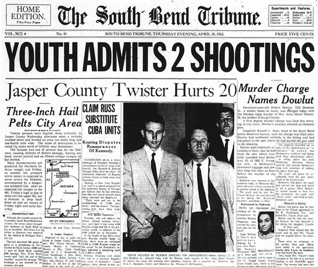 The NRA's Top Attorney Was Convicted of Murder in 1964
