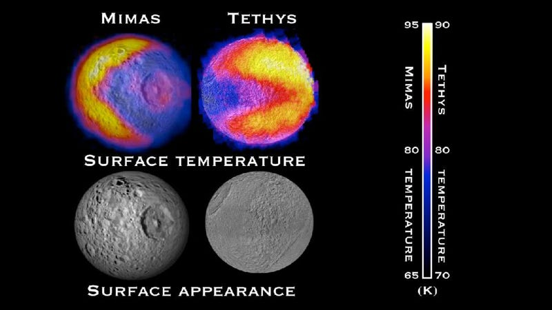 Why Are There Mysterious Pac-Men on Saturn's Moons?