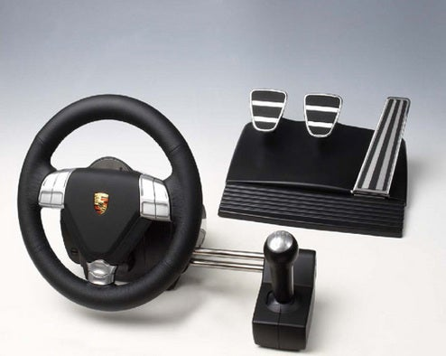 Gaming With Porsche Branded Peripherals Almost Like Driving Real Thing