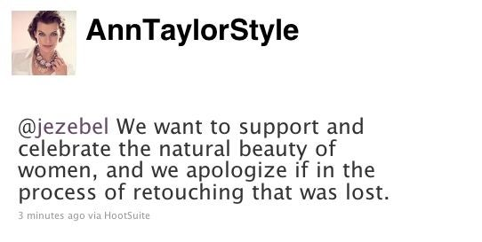 Ann Taylor Apologizes For Photoshop Horror