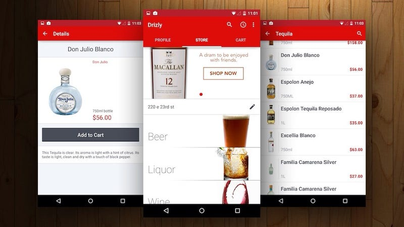 Drizly Delivers Wine, Beer, and Liquor to You Within an Hour