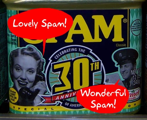 Happy 30th Birthday, Spam!