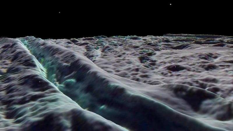 Saturn's moon Enceladus is the perfect extraterrestrial ski resort