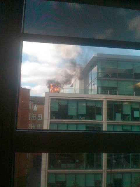 Google Office Fire Digitially Captured From Like 432 Different Angles