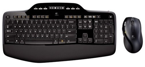 Logitech MK700 Wireless Desktop Features Concave Keys to Cradle Your Fingertips