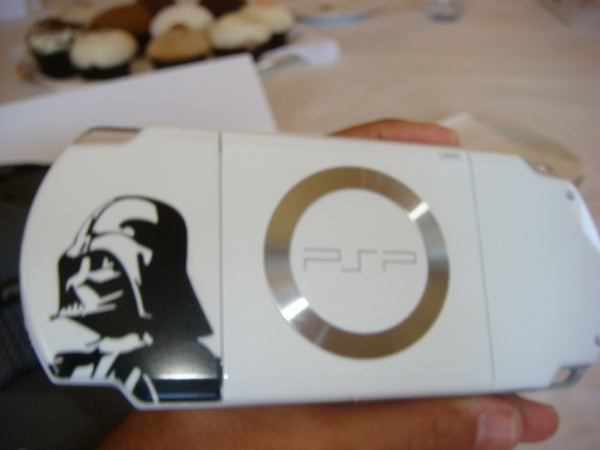 Hands-on With the Darth Vader Star Wars PSP