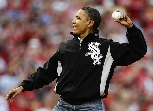 Did Barack Obama Blow His All-Star Game First Pitch?