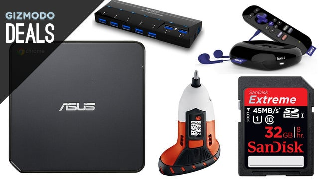 Deals: Chromebox, Cheap Rokus, SanDisk Storage, Video Game Preorders