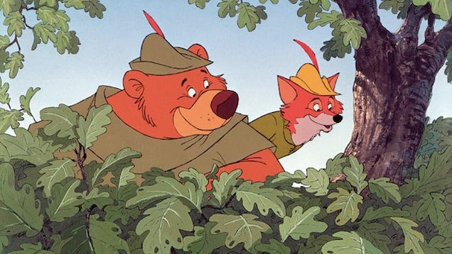 The Inspiration For Disney's Robin Hood Wasn't Actually Robin Hood