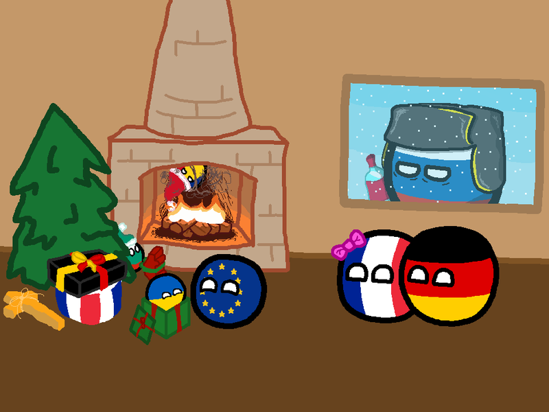 Daily Polandball: Gifts to the EU.