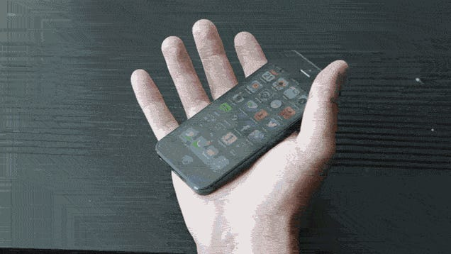 How Does the iPhone 5 Fit in Your Hand? A GIF Guide