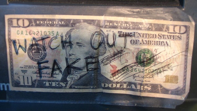 Your Home Insurance Might Cover the Receipt of Counterfeit Money