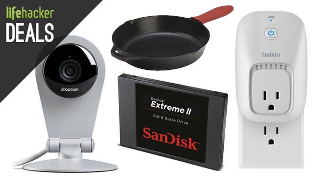 Deals: $20 Off a Dropcam, iTunes Cash, SanDisk Storage, WeMo Switch