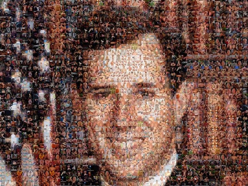 A Portrait of Rick Santorum Made of Gay Porn Stills