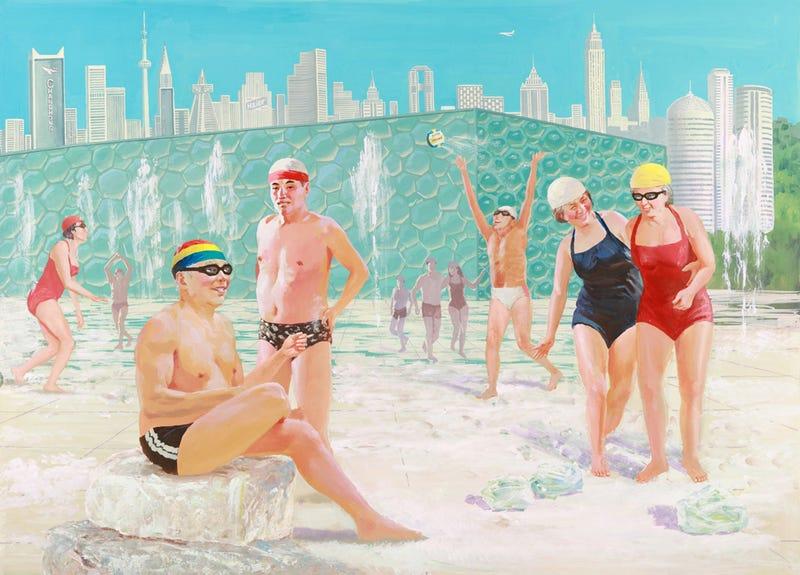 Modern Day China Painted By North Korean Propaganda Artists