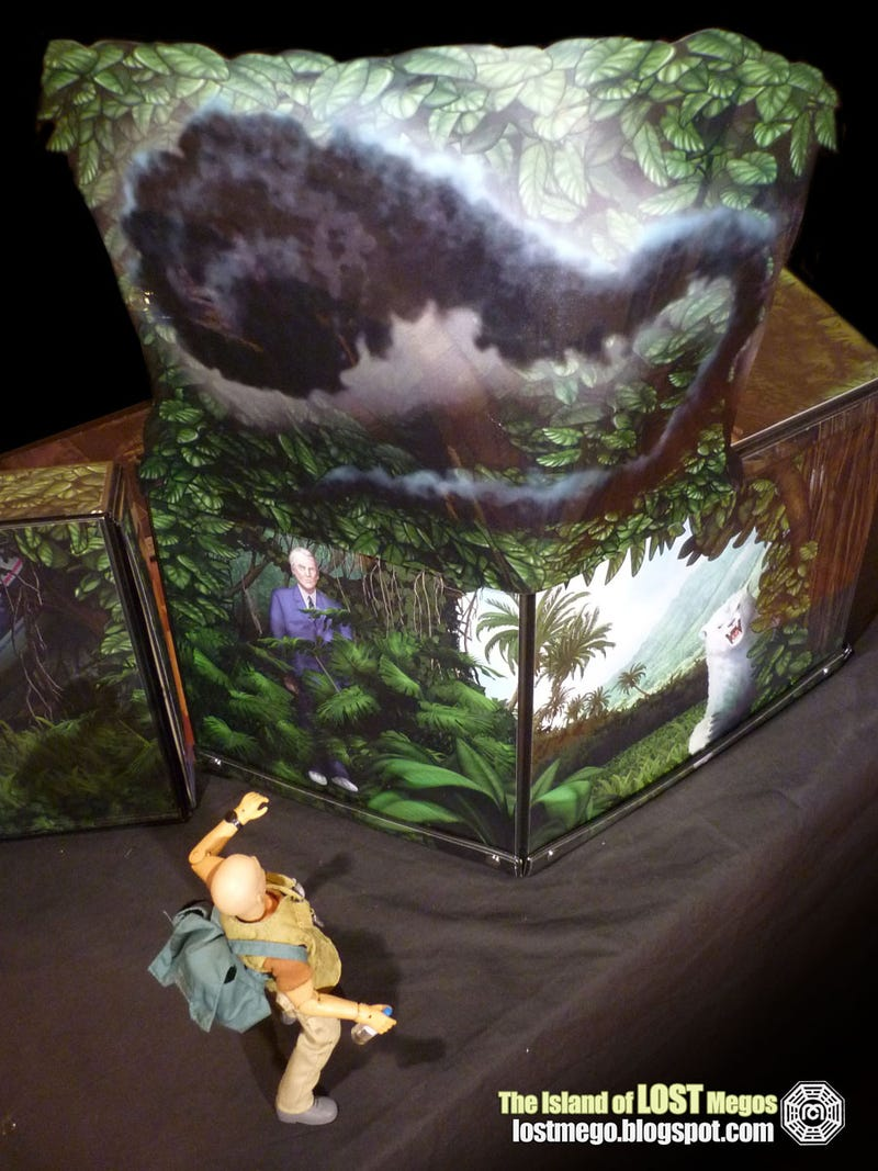 Hands down the most insane Lost diorama you've ever seen